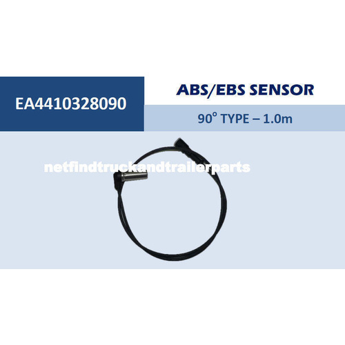 ABS/EBS Sensor Cable 90 degree Type 1 metre Truck Trailer