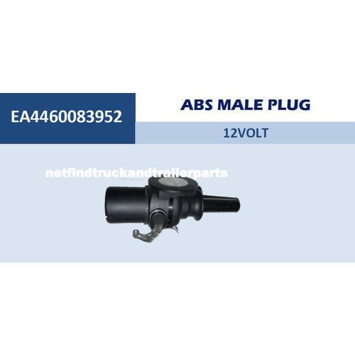 ABS Male  Plug 12V Truck Trailer