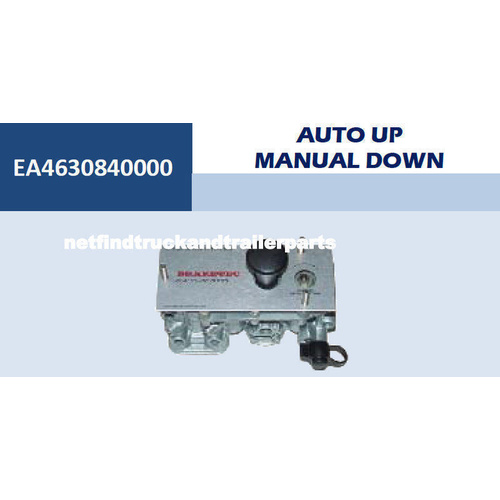 Trailer Axle Lift Up Control Valve Auto Up Manual Down