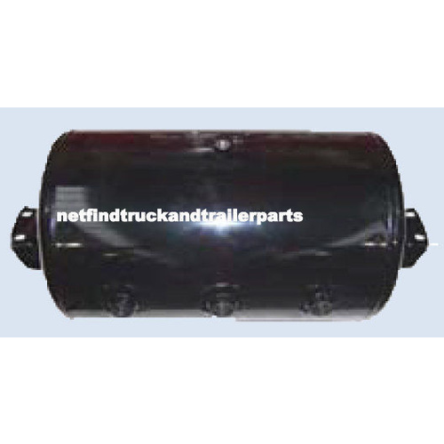 60 Litre Trailer Air Brake Tank Jumbo - 4 Port