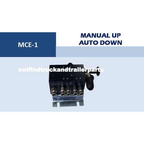 Trailer Axle Lift Up Control Valve Auto Down Manual Up