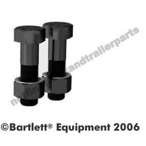 Bartlett Trailer Hood 95mm Accessory - Mounting Bolt Grade 8 Pair - Large 375/11