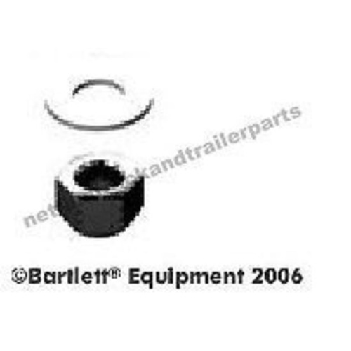 Bartlett Ball 95mm Accessory - Grade 8 Nyloc nut and Galvanised Washer 375/5-3/5