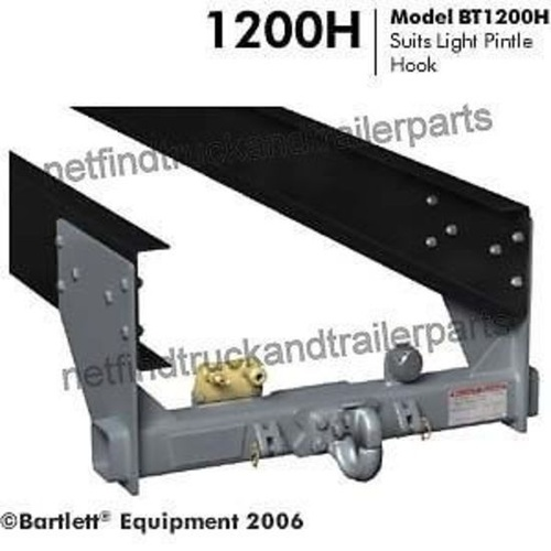 Tow Hitch suit Pintle Hook to 7000kg Light Small to Medium Truck Trailer Tow Bar includes Bolt Kit BT1200H-7T