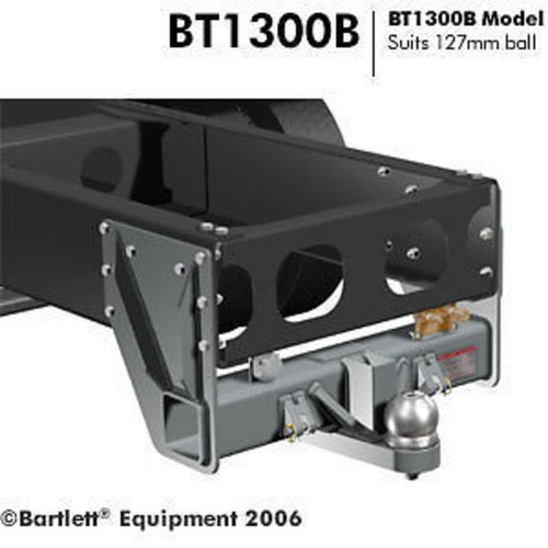 Tow bar to suit 127mm Bartlett Ball 13,000kg includes Bolt Kit BT1300B-13T