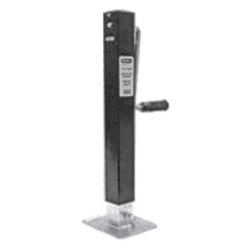 "Buyers Jockey Leg - Square Tube Jack - Side Wind 26"" Travel 3.1 tonne"