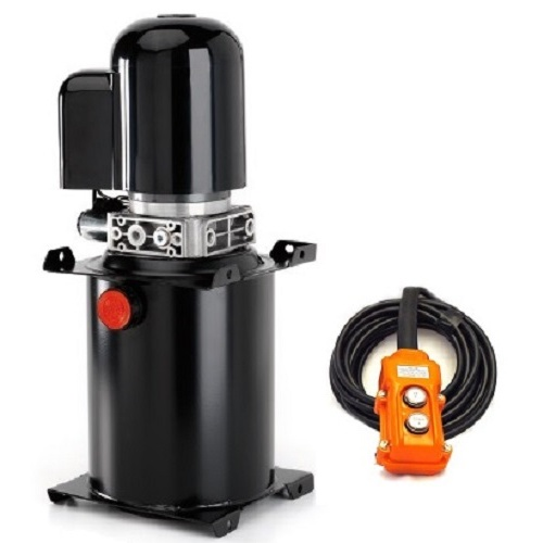 Powerpack Hydraulic 8 Litre - 12 Volt Single Acting Including Pendant Control