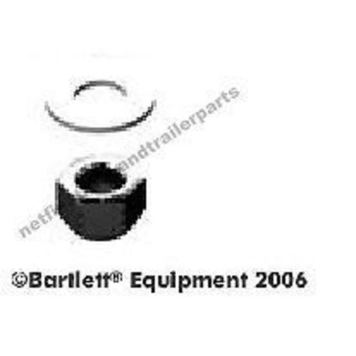 Grade 8 Nyloc Nut and Galvanised Washer to suit Bartlett Ball 127mm Accessory 59/5-3/5