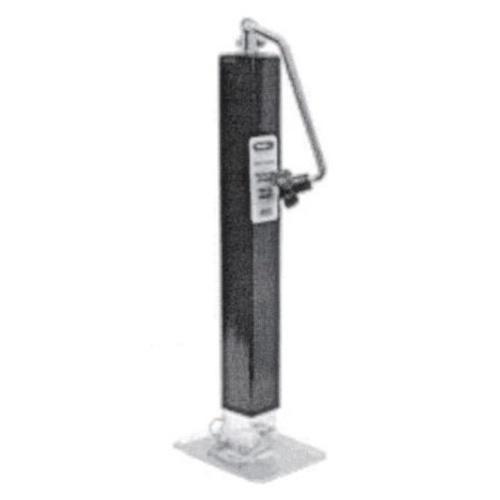 "Buyers Jockey Leg - Square Tube Jack - Top Wind 26"" Travel 3.1 Tonne"
