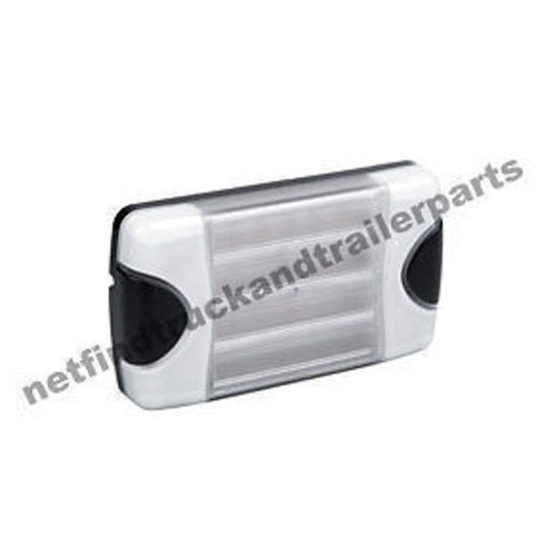 LED Lighting - DuraLED Rear Reversing Lamp (White)-Rectangular Truck & Trailer