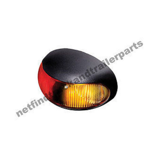 LED Lighting-DuraLED Side Marker Lamp Illuminated (Red/Amber) Truck & Trailer
