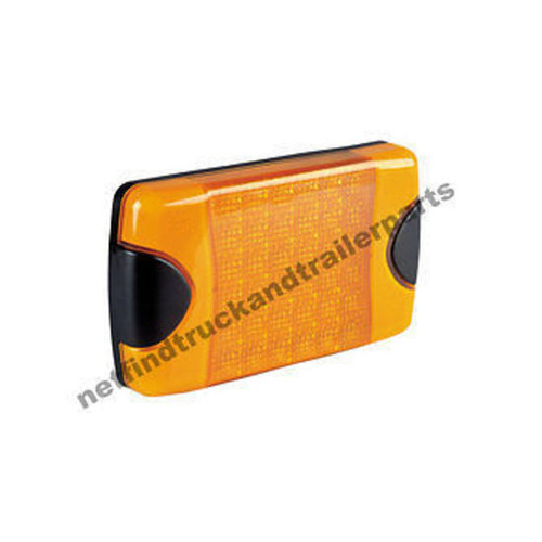 LED Lighting - DuraLED Rear Indicator (Amber) - Rectangular Truck & Trailer