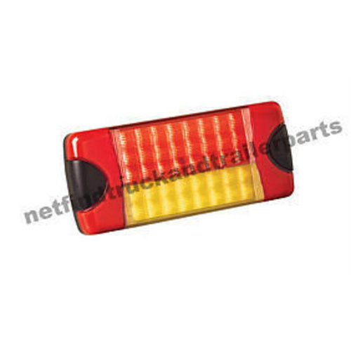 LED Lighting - DuraLED Combination Lamp (Red/Amber) -Rectangular Truck & Trailer