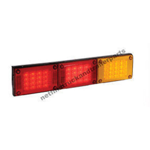 LED Lighting - LED Jumbo Triple Combination Lamp (Amber/Red/Red) Truck & Trailer