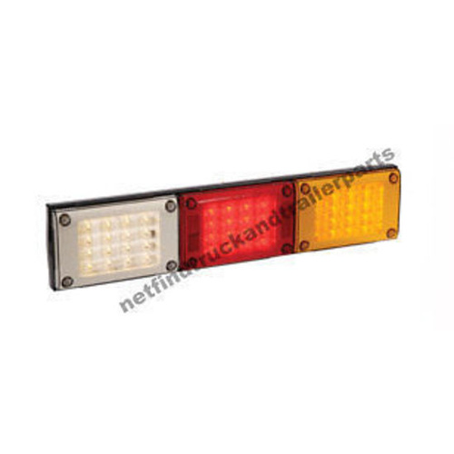 LED Lighting -LED Jumbo Triple Combination Lamp(Amber/Red/White) Truck & Trailer
