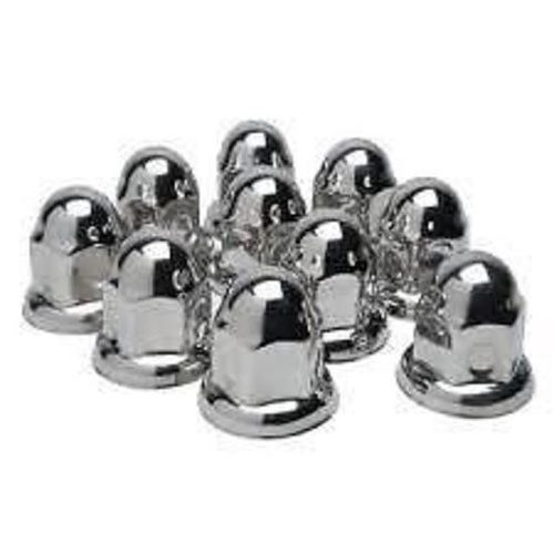 Chrome Wheel nut covers 32mm Truck Trailer 60 pieces