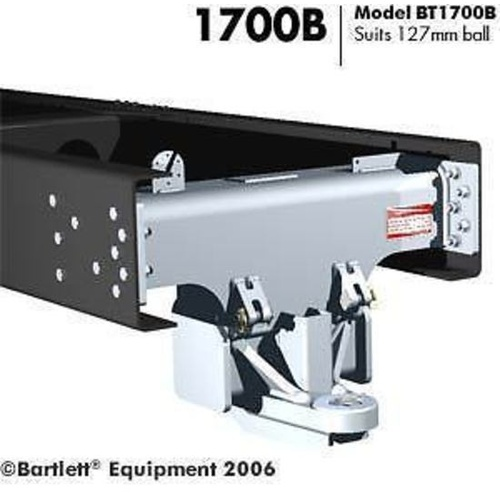 Tow Hitch to suit 127mm Bartlett Ball 30000kg with bolt kit INSIDE BT1700B-30T