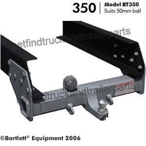 Tow Hitch to suit 50mm Ball (3500kg) coupling Tow Bar includes Bolt Kit BT-350