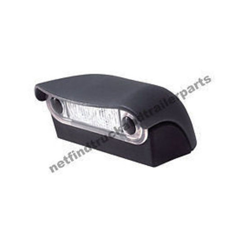 LED Lighting - LED Licence Plate Lamp illuminated by 2 white LED Truck & Trailer