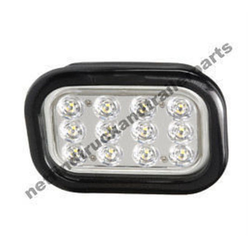 LED Lighting - LED Reversing (White) Rectangular Rubber Grommet Truck & Trailer